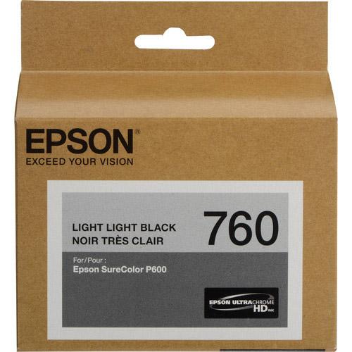 T760920 Light Lt Black Ultrachrome HD for P600
