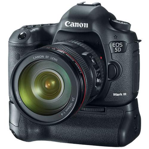 Canon eos 5d mark iii body bg 11 grip dslr cameras for 5d mark iii body