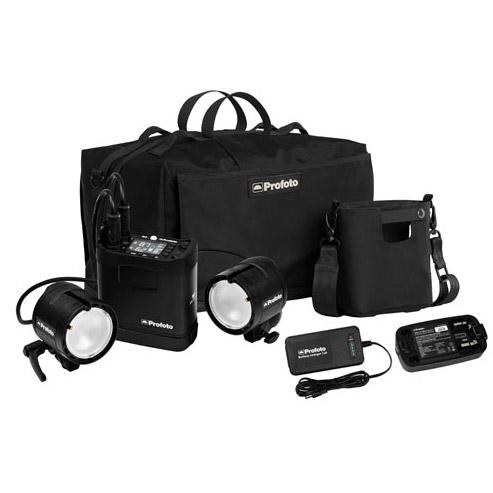 B2 250 AirTTL Location Kit 1xB2 250 Pack, 2xB2 Head, 2X Battery