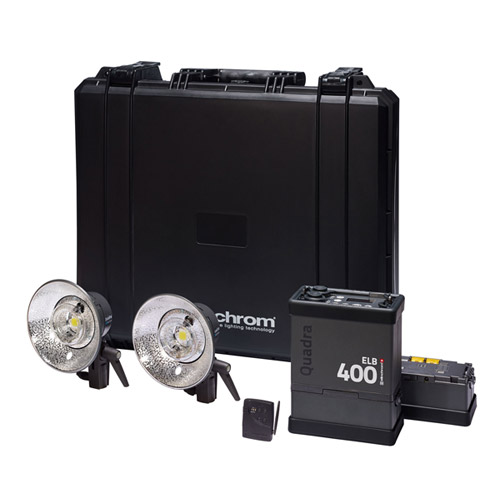 Elinchrom Frx 400 Studio Lighting Kit: Elinchrom Quadra ELB 400 To Go Kit With 1xELB400, 2xPro