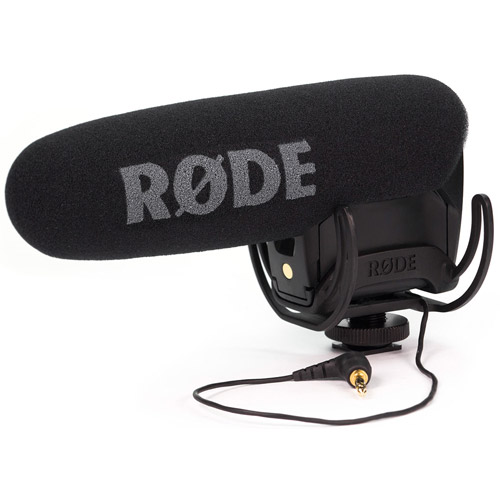 VideoMic PRO Shotgun Condenser Microphone with Rycote Lyre Shock Mounting