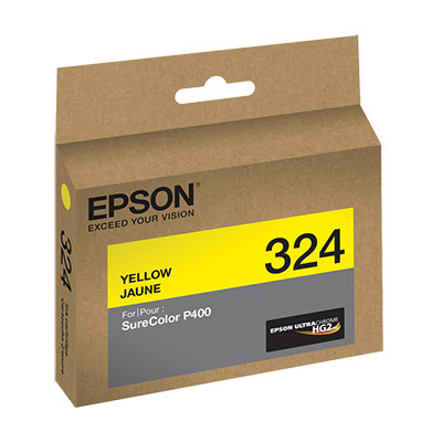 Epson T324420 Yellow UltraChrome HG2 For P400 Inkjet Cartridges Vistek Cana