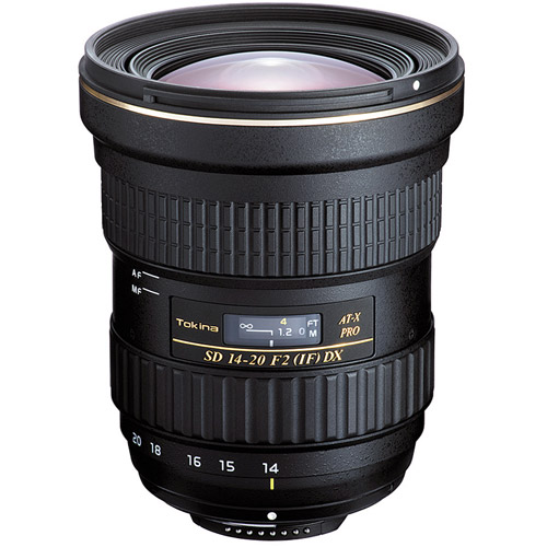 AT-X 14-20mm f/2.0 Pro DX Lens for Nikon