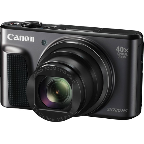 PowerShot SX 720 HS with Black Case