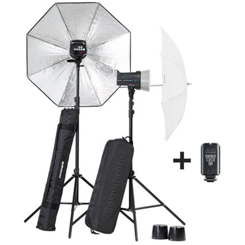 D-LITE RX 2/2 Umbrella To Go Set with EL-Skyport Transmitter Plus