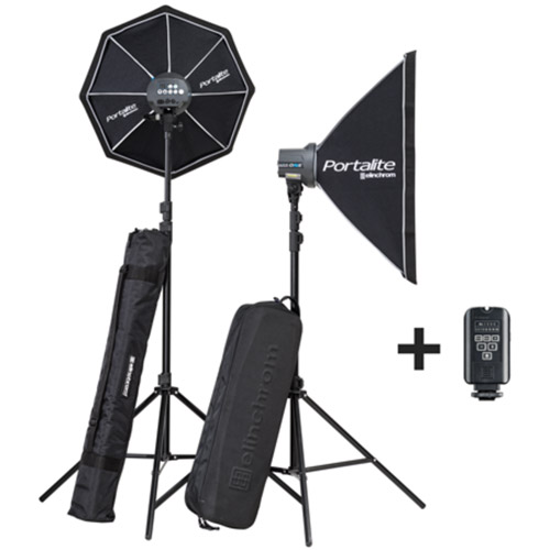 Elinchrom D-Lite RX One Softbox To Go Set with EL-Skyport Transmitter Plus