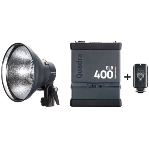 ELB 400 Pro To Go Kit with 1x ELB400, 1x Pro Head, 1x Skyport Transmitter Plus and Case