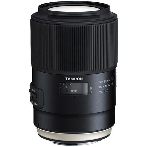 90mm f/2.8 Di SP VC USD 1:1 Macro Lens for Nikon