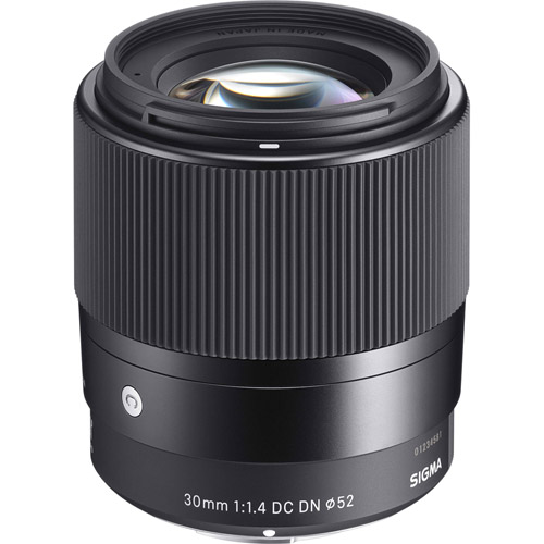 Contemporary 30mm f/1.4 DC DN Lens for Sony E-Mount