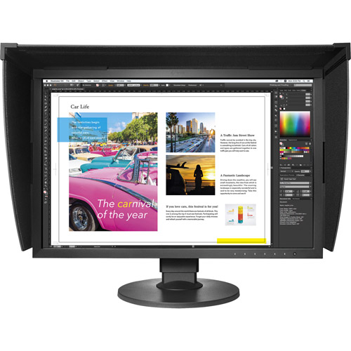 "CG2420-BK 24"" 1920x1200 IPS, LED, 99% Adobe, Hardware Calibration, Bundled with Hood"