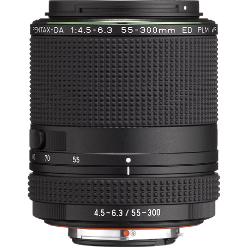 HD Pentax-DA 55-300mm f/4.5-6.3 ED PLM WR RE Lens