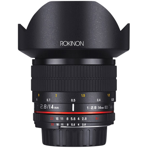 14mm F2.8 IF ED Super Wide Angle Lens for Nikon AE with Automatic Chip