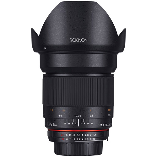 Rokinon 24mm F1 4 Ed Umc Wide Angle Lens For Canon Ef