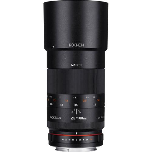 rokinon 100mm f2 8 full frame macro lens for canon ef dslr. Black Bedroom Furniture Sets. Home Design Ideas