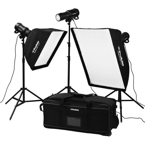 Profoto Studio Lighting Kit: Profoto D1 Studio Kit 500/500/1000 Without Air Remote