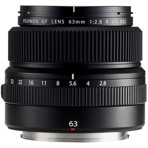 Fujinon GF 63mm f/2.8 R WR Lens