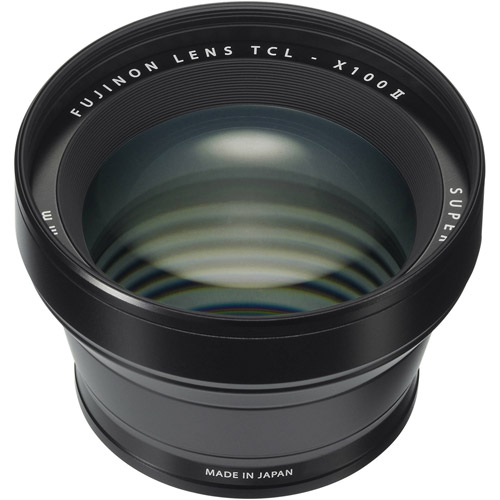 TCL-X100B II Tele Conversion Lens for X100 Series (Black)