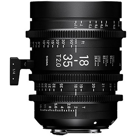 18-35mm T2 Cine Lens for Canon EF Mount Super 35mm Format