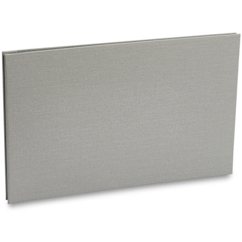Bex 11x17 Landscape Screwpost Binder / Gray + 20 Pro-Archive Sheet Protectors