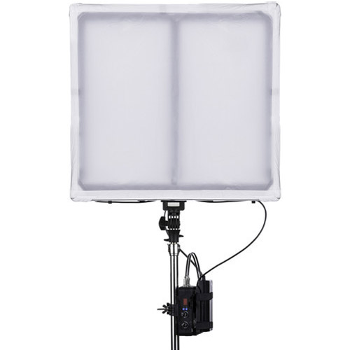 LED Go LG-V116C2K2 Versatile LED Light with AC Adapter, Control box, 2 x Tiles, 2 x Frame and 2 x Backing