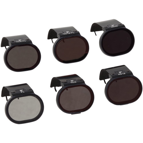 DJI Spark Filter 6-Pack (Includes a fixed PL, ND8/PL, ND16/PL, ND8, ND16 and ND32 filters)