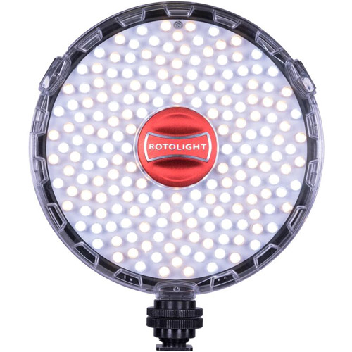 Rotolight NEO II LED Light with Filter Set, Cold Shoe, AC and Pouch