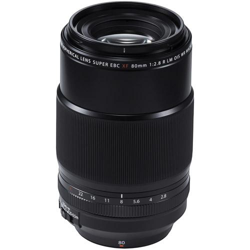 Fujinon XF 80mm f/2.8 R LM OIS WR Macro Lens