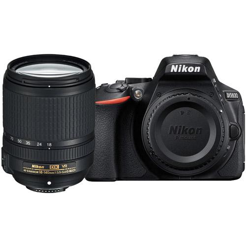 nikon d5600 body w af s dx nikkor 18 140mm vr lens dslr cameras vistek canada product detail. Black Bedroom Furniture Sets. Home Design Ideas