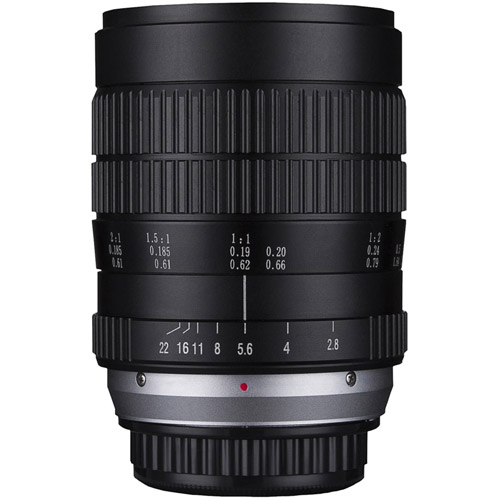 60mm f/2.8 2x Ultra-Macro Canon EF Mount Manual Focus Lens