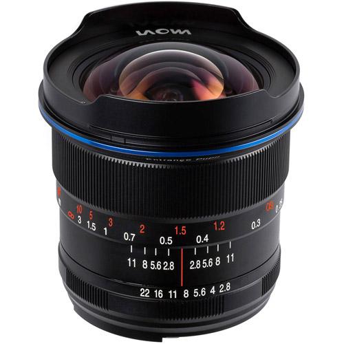 12mm f/2.8 Zero-D Nikon F Mount Manual Focus Lens