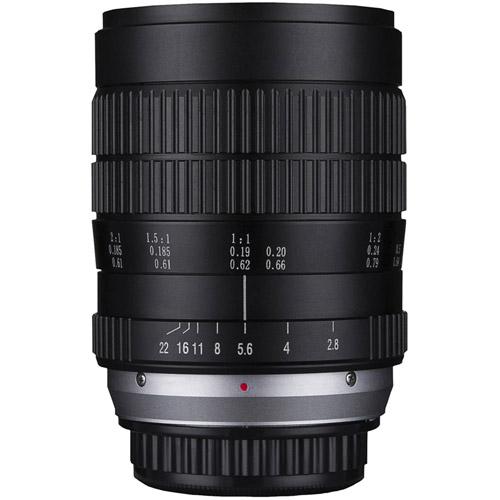 60mm f/2.8 2x Ultra-Macro Sony FE Mount Manual Focus Lens