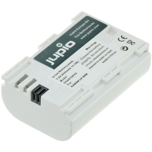 Jupio LP-E6N *ULTRA* Lithium-Ion Rechargeable Battery for Canon Cameras - 2040 mAh