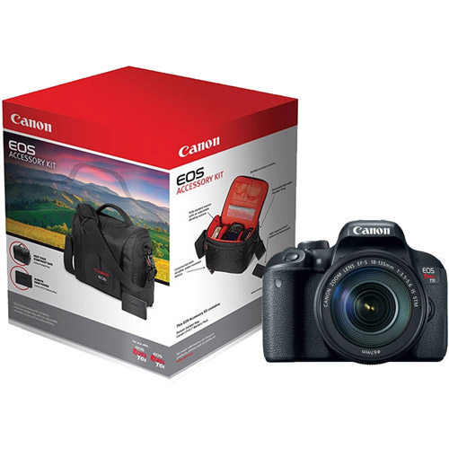 Canon EOS Rebel T7i Body with LP-E17 Battery