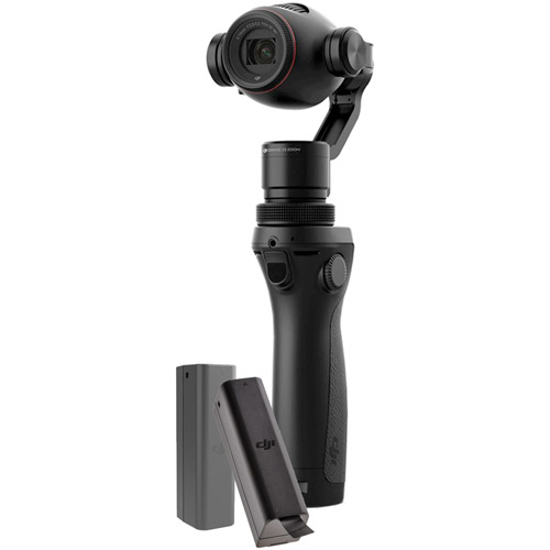 Osmo Handheld 3-Axis Gimbal with Zenmuse X3 4K Camera With 2 Bonus Batteries