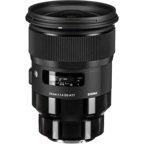 ART 24mm f/1.4 DG HSM Lens for Sony E-Mount