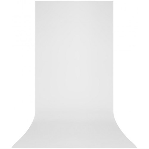 X-Drop Wrinkle-Resistant Backdrop High-Key White Sweep (5' x 12')