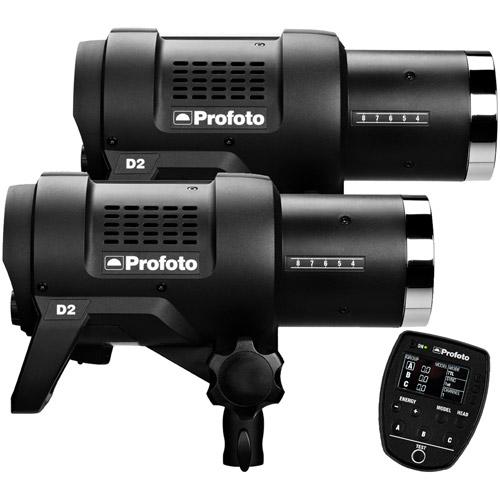 D2 Duo Kit 500/500 AirTTL w/ Air Remote TTL-F For Fujifilm