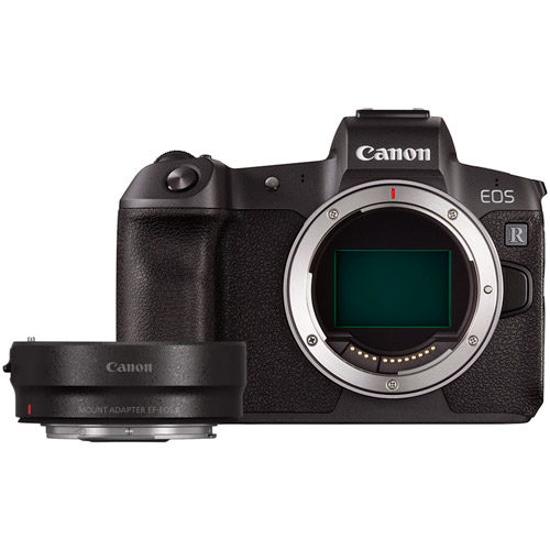 EOS R Full Frame Mirrorless Camera Body includes FREE EF-EOS R Lens Mount Adapter