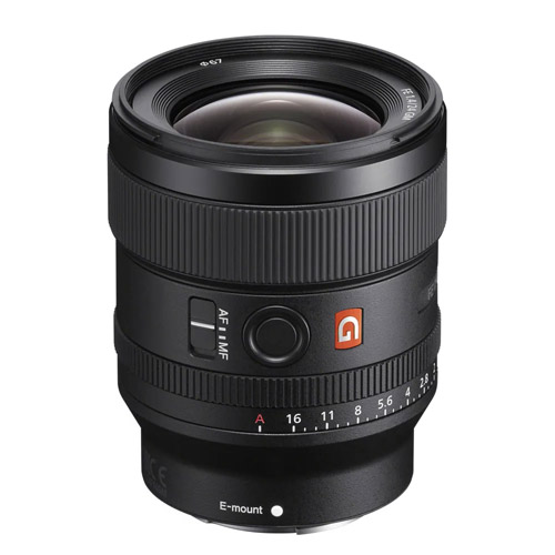 SEL FE 24mm f/1.4 GM E-Mount Lens