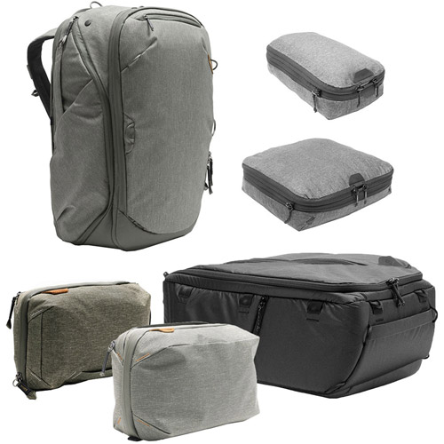 Peak Design Travel Backpack 45L w  Sm   Md Packing Cubes 8344a179796a9
