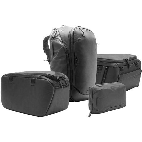 Peak design travel backpack tech pouch camera cubes jpg 500x500 45l camera 5f5f081e710fb
