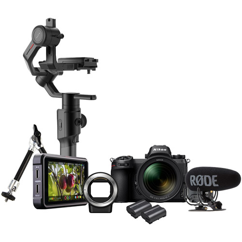 Z6 Filmmaker's Kit (inc. Atomos V, HDMI Cable, Moza 2 Air Gimbal & Arm, Rode VideoMic Pro Plus)