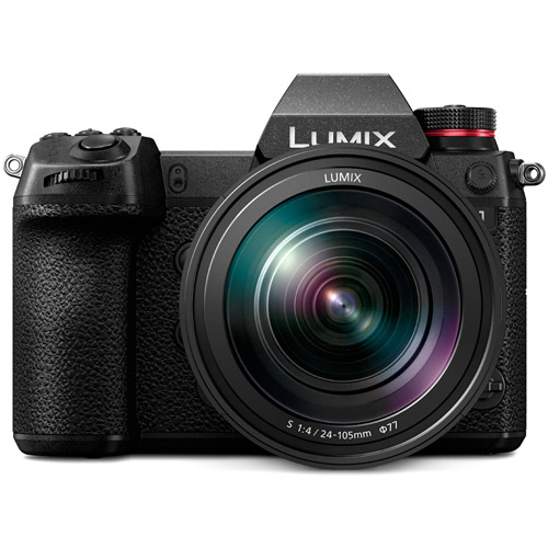 Lumix DC-S1 Mirrorless Kit w/ Lumix S 24-105mm f/4.0 Macro OIS L-Mount Lens