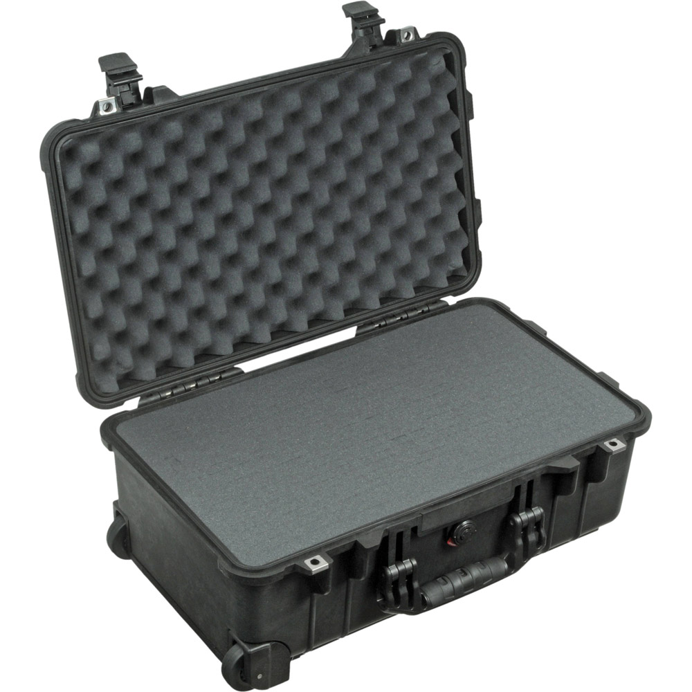 Pelican 1510 Case Black W Foam Retractable Handle Wheels Nanuk 940 Padded Divider Insert For 000 110 Medium Watertight Cases Vistek Canada Product Detail