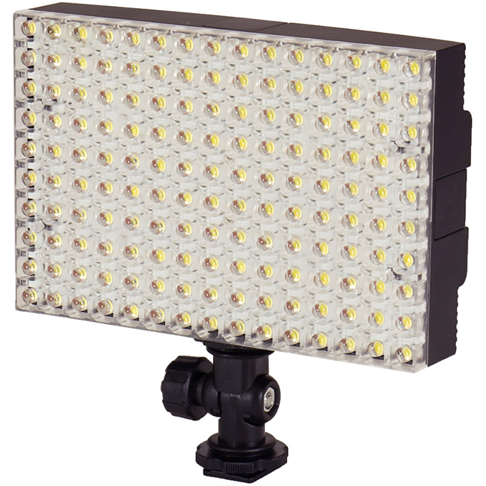 Ledgo CN-B150 LED On-Camera Light with Sony Type F550  Battery, Charger, Hot Shoe Adapter and Filter Set