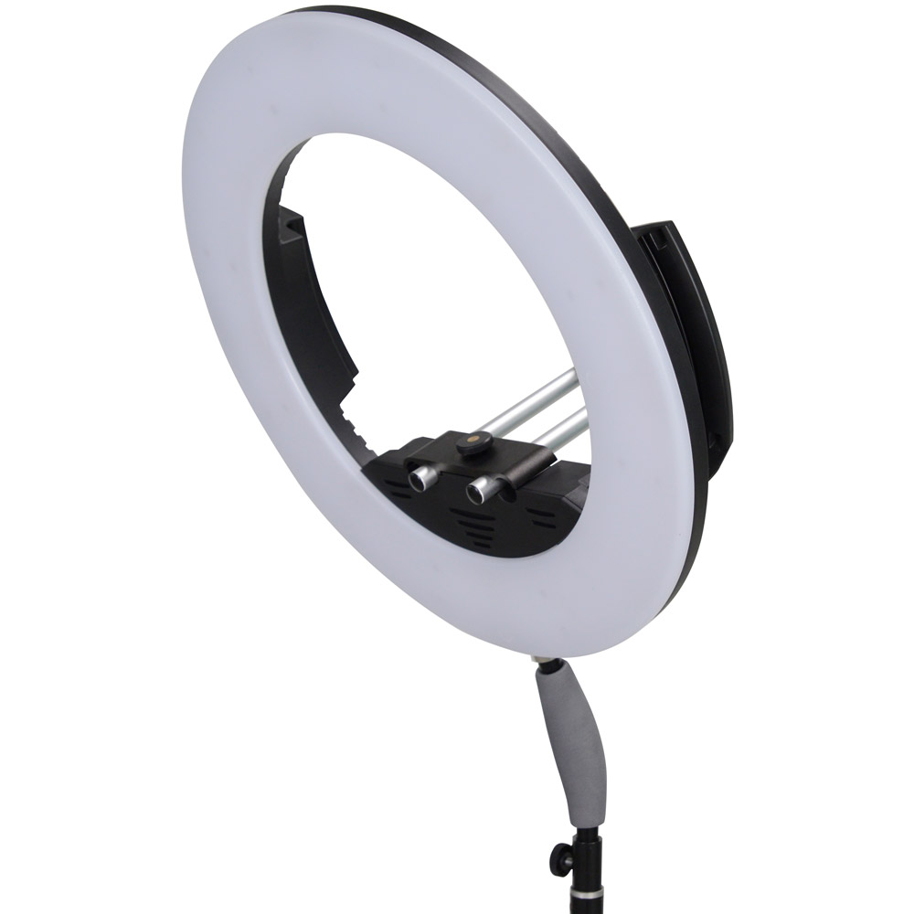 LED Go LG-R320C LED Ring Light 32W Bi-Colour with AC Adapter and Case
