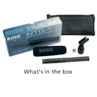 NTG-1 Condenser Microphone Shotgun Ultra Lightweight