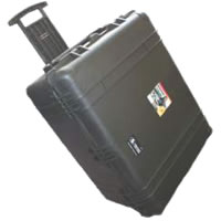 1634 Transport Case with Padded Dividers