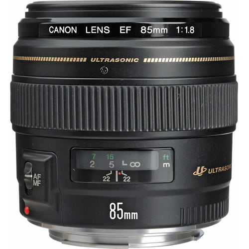 EF 85mm f/1.8 USM Telephoto Lens