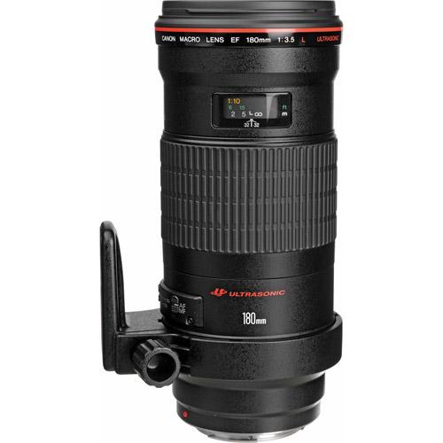 EF 180mm f/3.5L Macro USM Telephoto Lens
